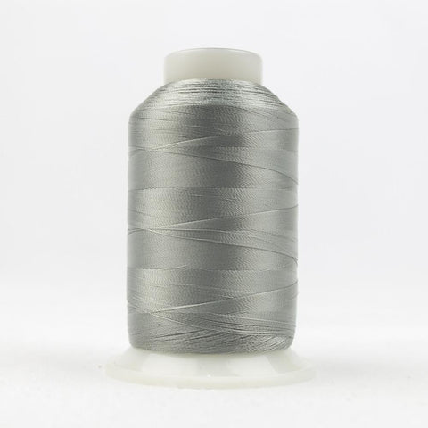 DecoBob 80wt/2ply Cottonized Polyester Grey thread