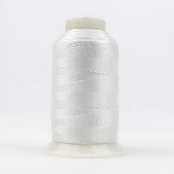 DecoBob 80wt/2ply Cottonized Polyester White thread