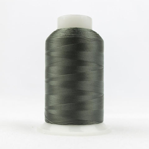 DecoBob 80wt/2ply Cottonized Polyester Metal grey thread