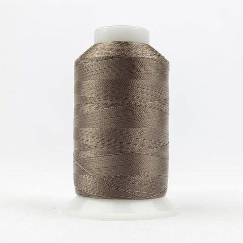 DecoBob 80wt/2ply Cottonized Polyester Brown grey thread