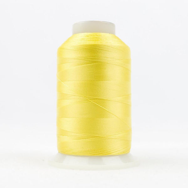 DecoBob 80wt/2ply Cottonized Polyester Soft yellow thread