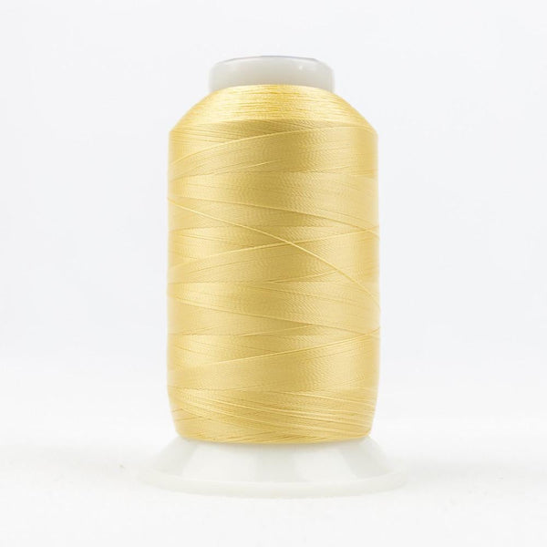 DecoBob 80wt/2ply Cottonized Polyester Soft gold thread