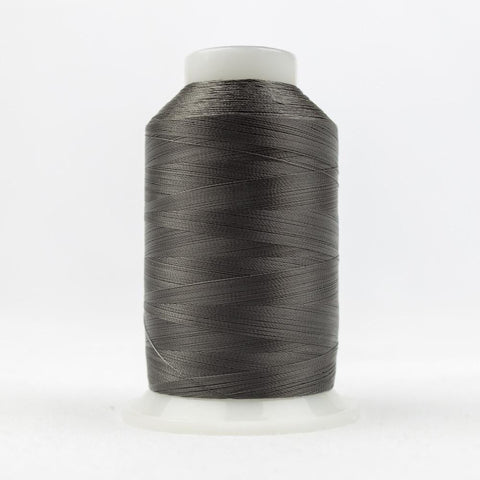 DecoBob 80wt/2ply Cottonized Polyester Charcoal thread