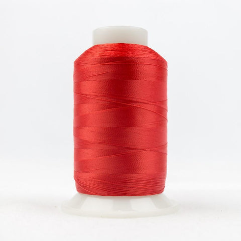 DecoBob 80wt/2ply Cottonized Polyester Red thread