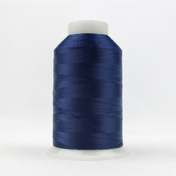 DecoBob 80wt/2ply Cottonized Polyester navy thread