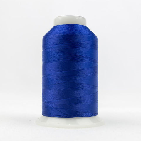 DecoBob 80wt/2ply Cottonized Polyester Royal blue thread