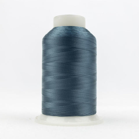 DecoBob 80wt/2ply Cottonized Polyester Metal blue thread
