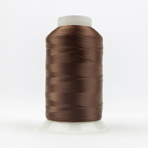DecoBob 80wt/2ply Cottonized Polyester Brown thread