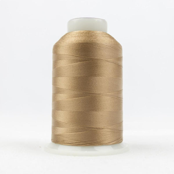 DecoBob 80wt/2ply Cottonized Polyester Soft tan thread