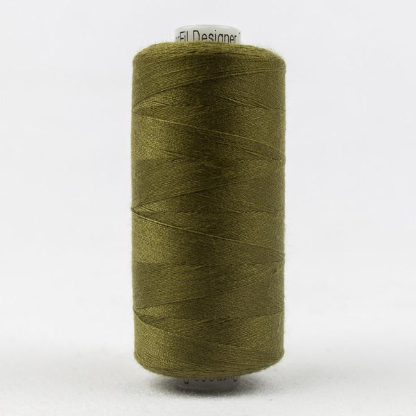 Designer 40wt All-Purpose Polyester Olive thread