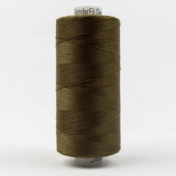DS105 - Designer All purpose 40wt Polyester Bronze Olive Thread - wonderfil-online-eu