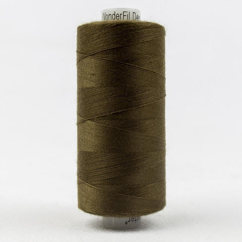 Designer 40wt All-Purpose Polyester Bronze Olive thread