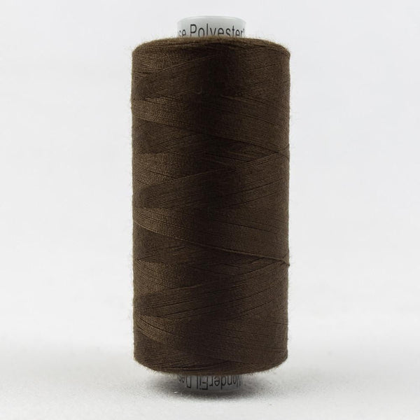 DS106 - Designer All purpose 40wt Polyester Chocolate Thread - wonderfil-online-eu