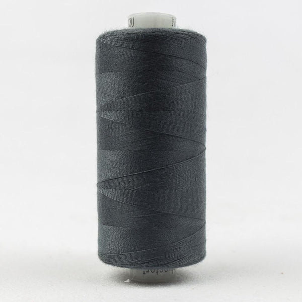 DS130 - Designer All purpose 40wt Polyester Oslo Grey Thread - wonderfil-online-eu
