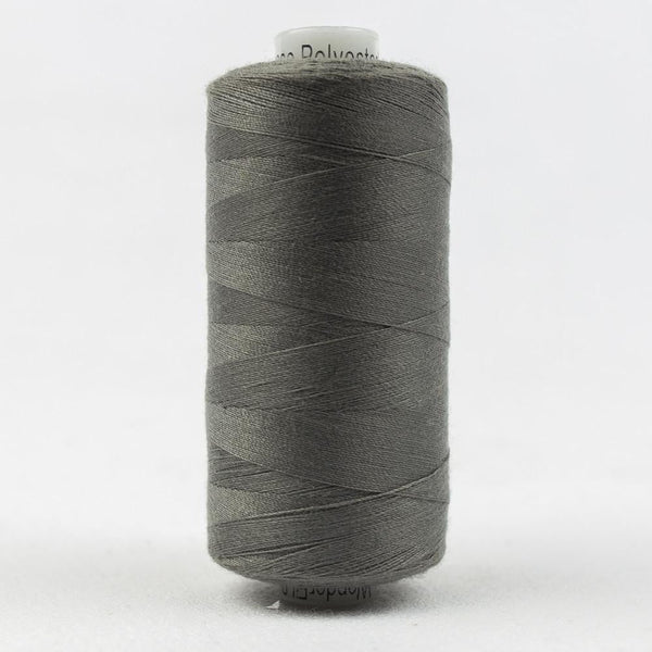 DS131 - Designer All purpose 40wt Polyester Ironside Grey Thread - wonderfil-online-eu
