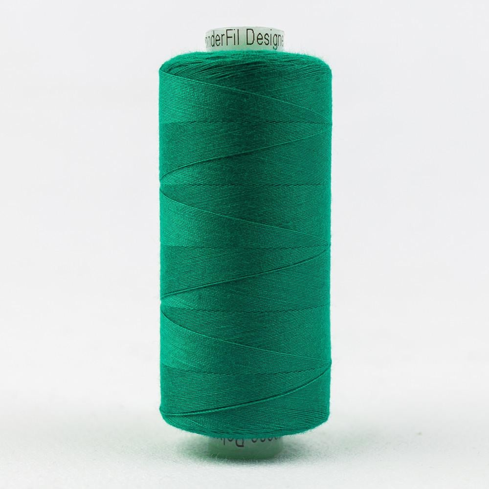 DS147 - Designer All purpose 40wt Polyester Elf Green Thread - wonderfil-online-eu