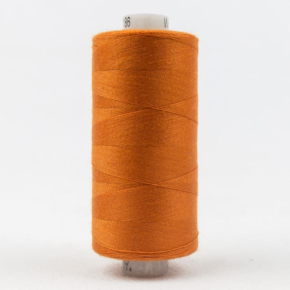 DS186 - Designer All purpose 40wt Polyester Safety Orange Thread - wonderfil-online-eu