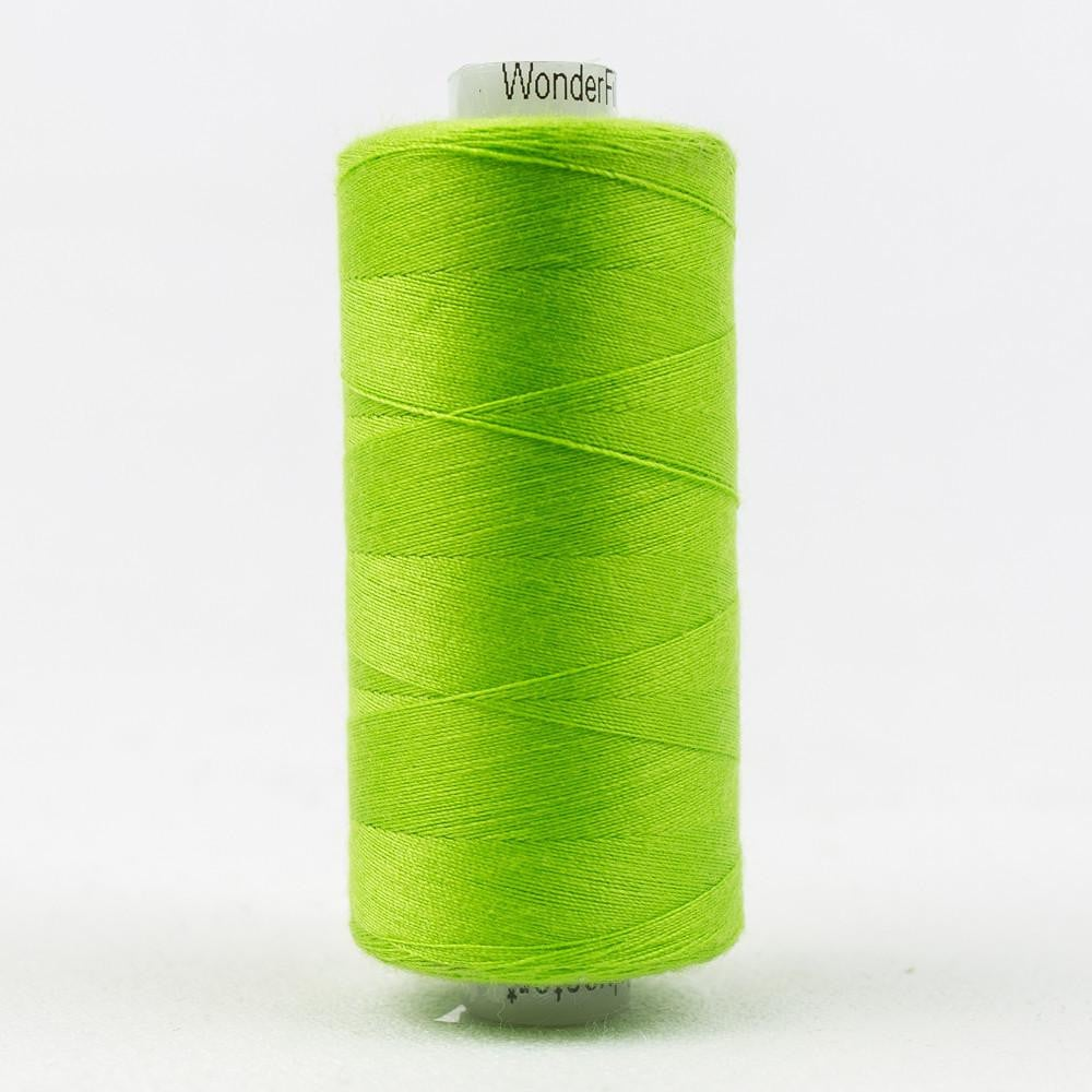 DS195 - Designer All purpose 40wt Polyester Chartreuse Thread - wonderfil-online-eu