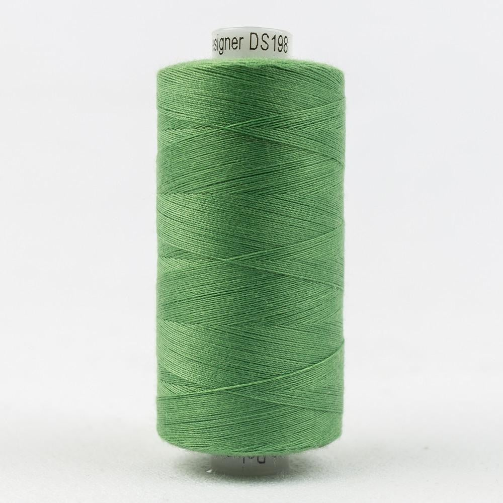 DS198 - Designer All purpose 40wt Polyester Granny Smith Thread - wonderfil-online-eu