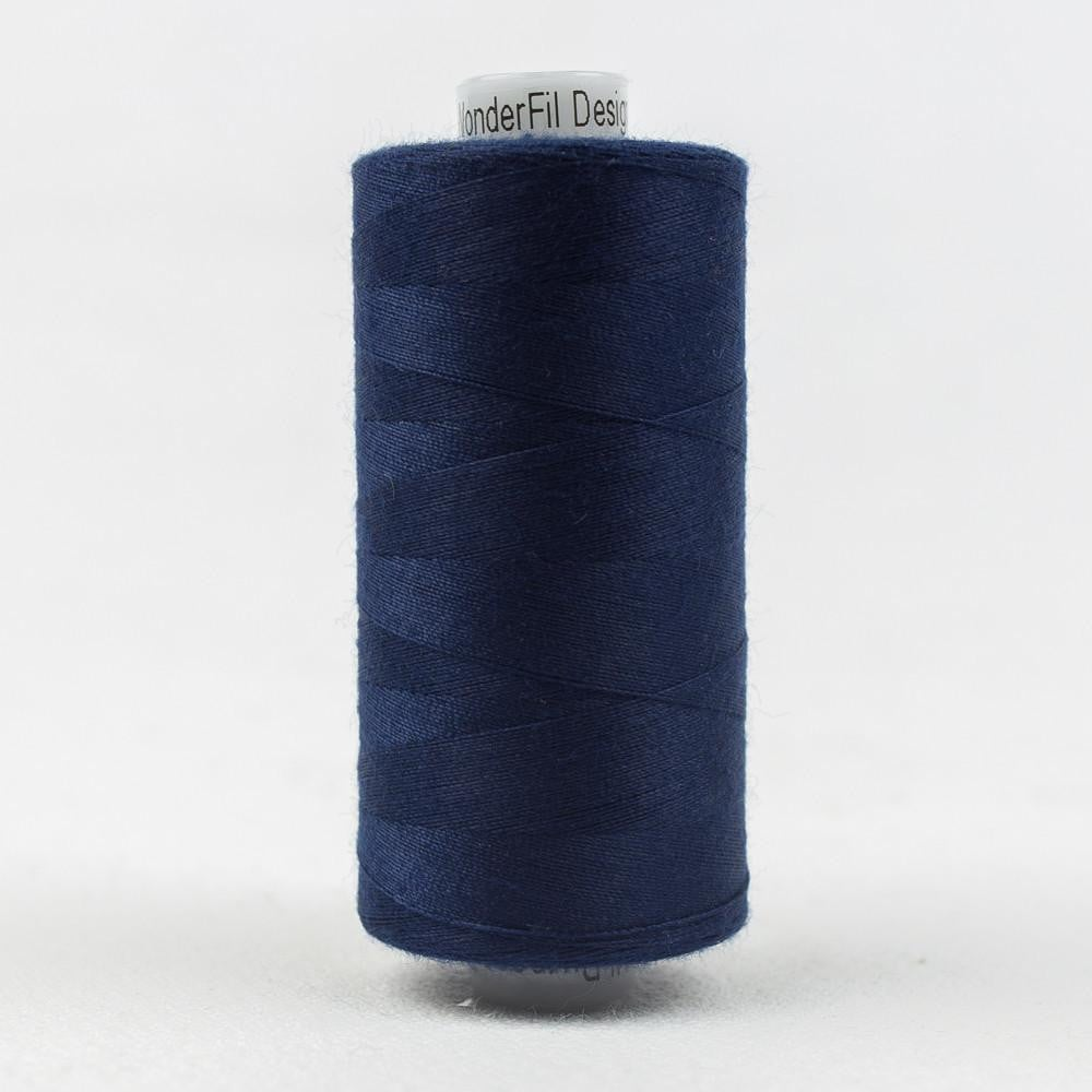 DS219 - Designer All purpose 40wt Polyester Navy Thread - wonderfil-online-eu