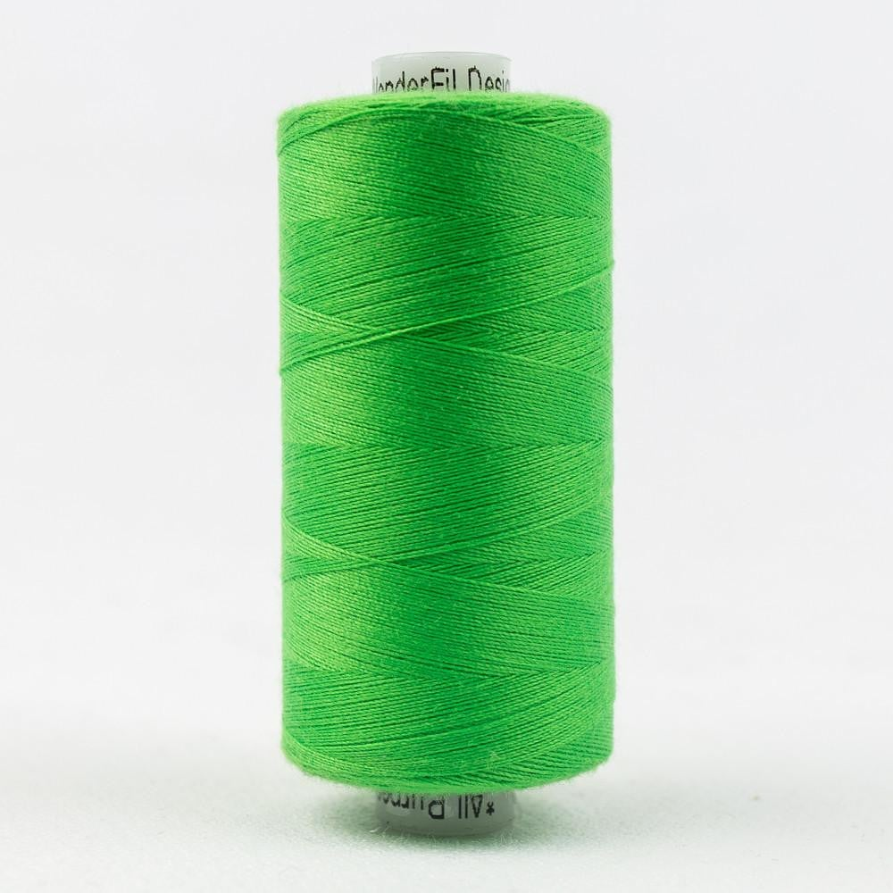 DS272 - Designer All purpose 40wt Polyester Lime Green Thread - wonderfil-online-eu