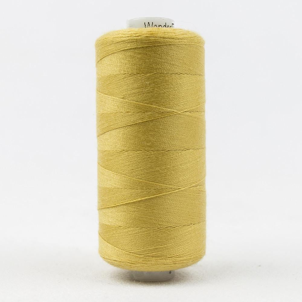 DS337 - Designer All purpose 40wt Polyester Golden Sand Thread - wonderfil-online-eu