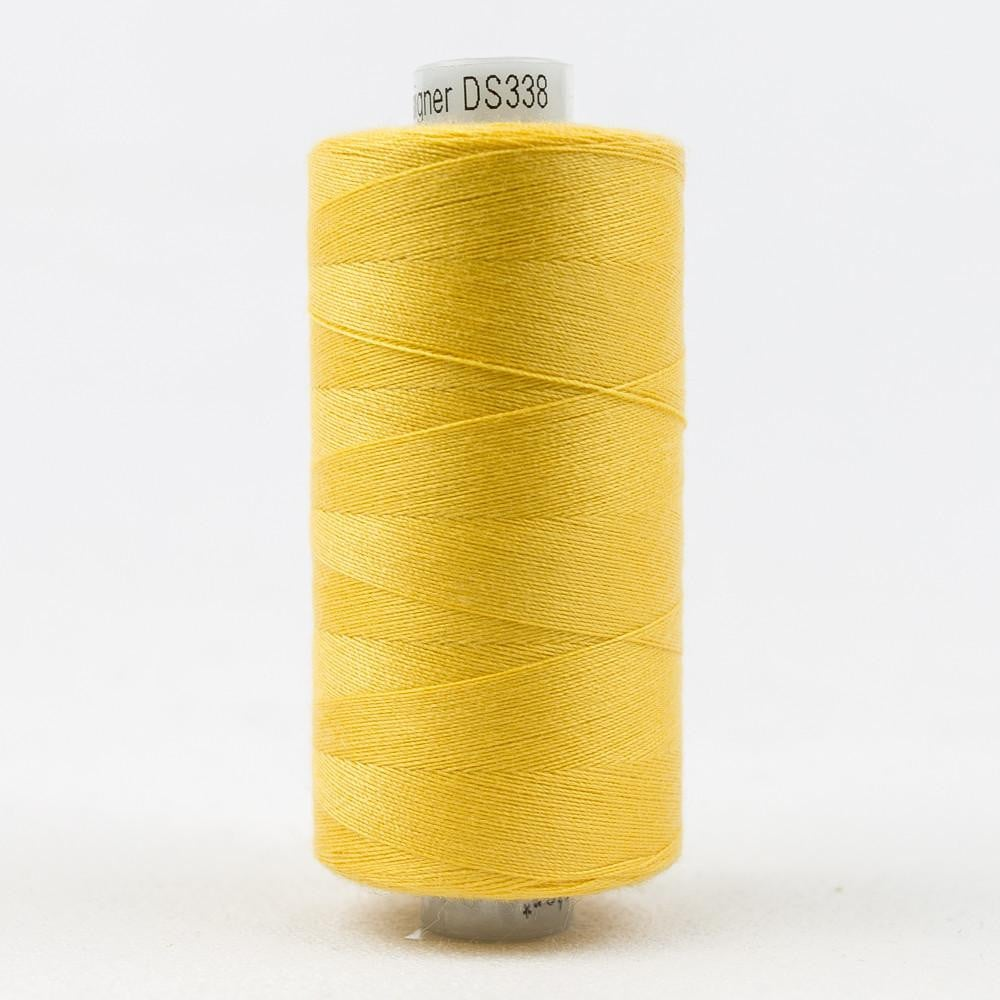 DS338 - Designer All purpose 40wt Polyester Cream Can Thread - wonderfil-online-eu