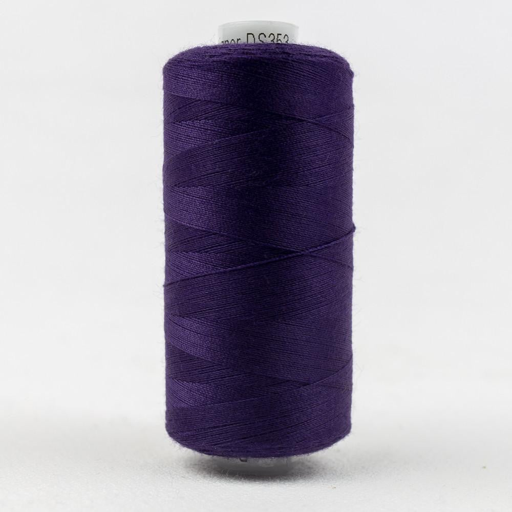 DS353 - Designer All purpose 40wt Polyester Deep Indigo Thread - wonderfil-online-eu