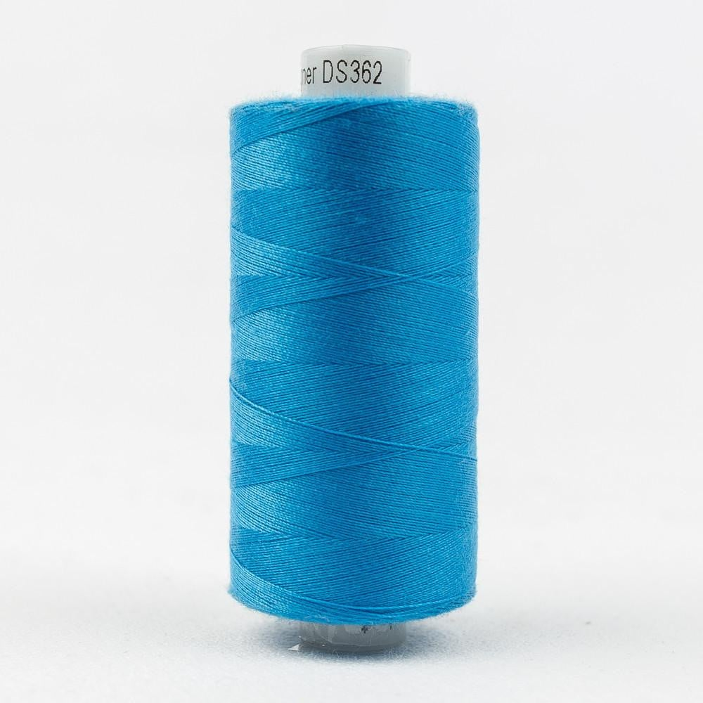 DS362 - Designer All purpose 40wt Polyester Curious Blue Thread - wonderfil-online-eu