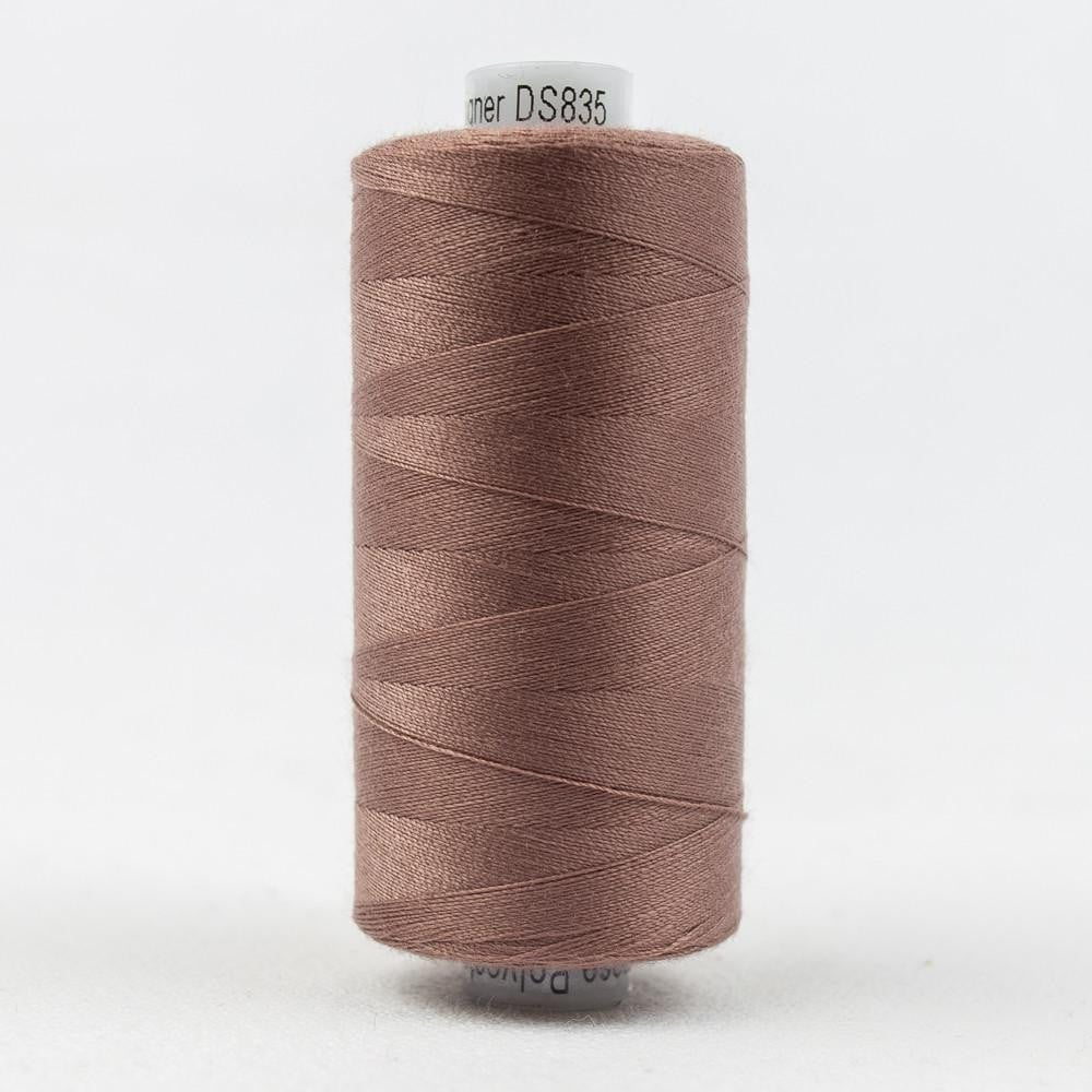 DS835 - Designer All purpose 40wt Polyester Pink Marble Thread - wonderfil-online-eu