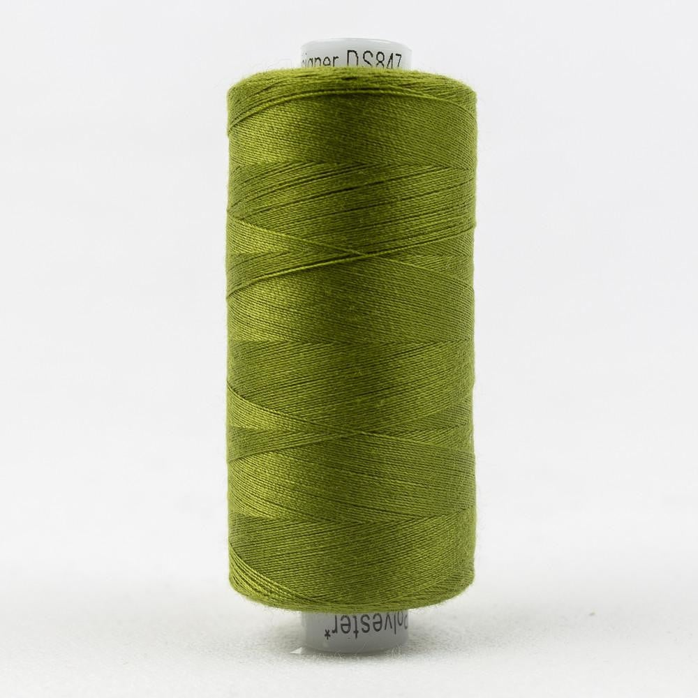 DS847 - Designer All purpose 40wt Polyester Olive Drab Thread - wonderfil-online-eu