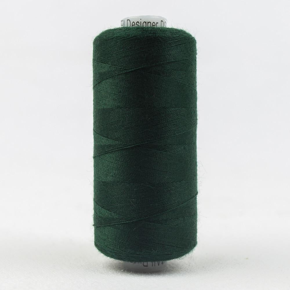 DS856 - Designer All purpose 40wt Polyester Dark Green Thread - wonderfil-online-eu