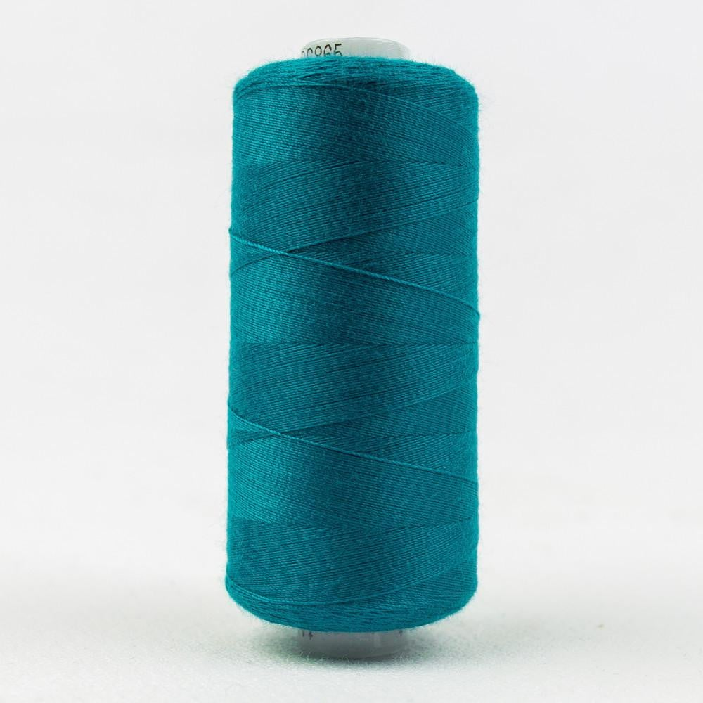 DS865 - Designer All purpose 40wt Polyester Persian Green Thread - wonderfil-online-eu
