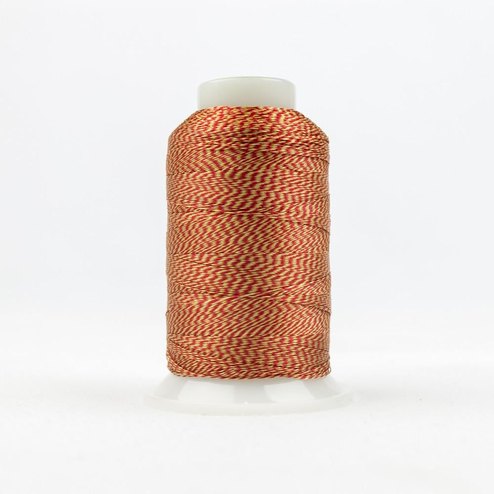 D-Twist Red Gold Thread