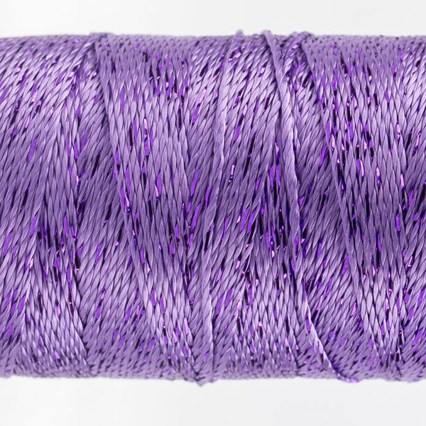 DZ120 - Rayon and Metallic Lavender Thread - wonderfil-online-eu