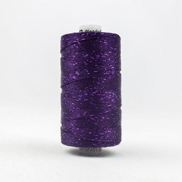 DZ124 - Rayon and Metallic Purple Thread - wonderfil-online-eu