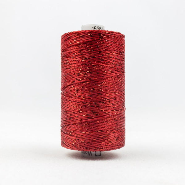 DZ1267 - Rayon and Metallic Tomato Red Thread - wonderfil-online-eu