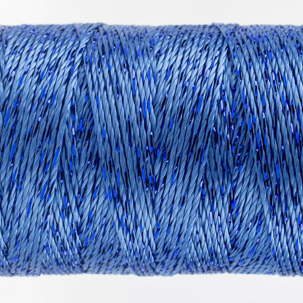 DZ2202 - Rayon and Metallic Baltic Blue Thread - wonderfil-online-eu
