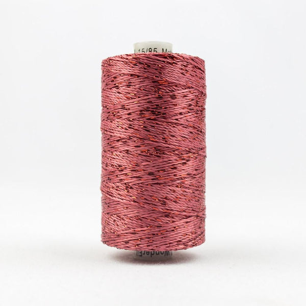 DZ2514 - Rayon and Metallic Coral Rose Thread - wonderfil-online-eu