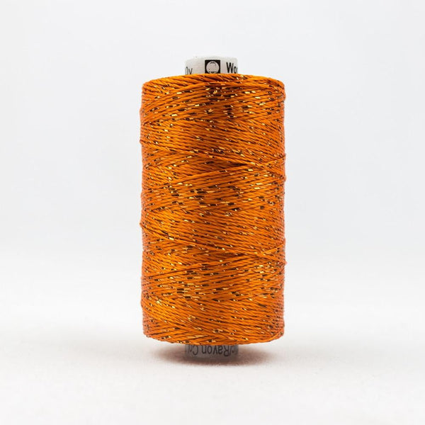 DZ27 - Rayon and Metallic Orange Thread - wonderfil-online-eu