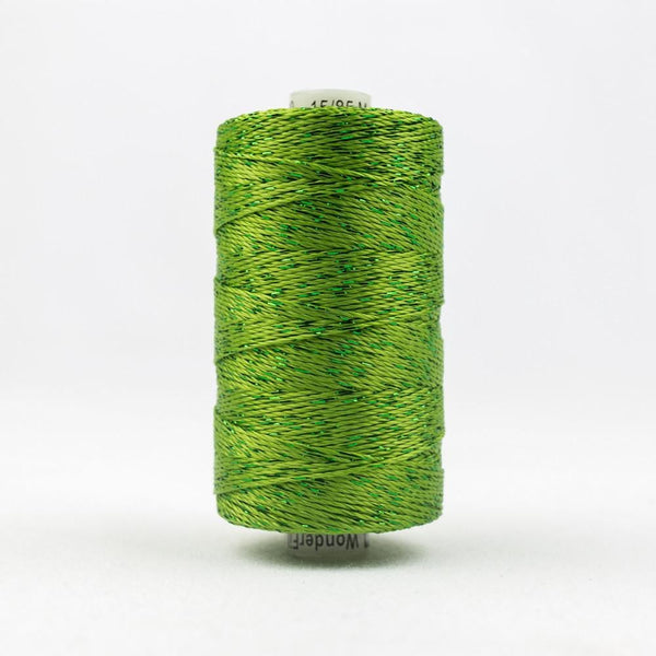 DZ280 - Rayon and Metallic Grass Green Thread - wonderfil-online-eu