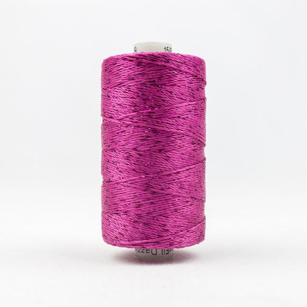 DZ39 - Rayon and Metallic Fuschia Thread - wonderfil-online-eu