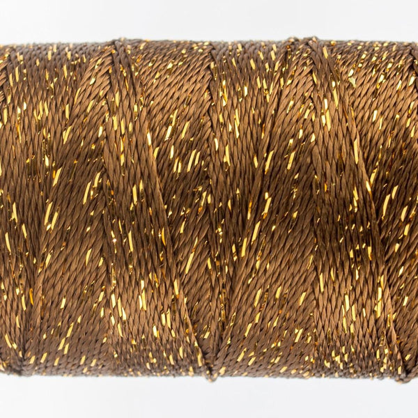 DZ6230 - Rayon and Metallic Nutmeg Thread - wonderfil-online-eu