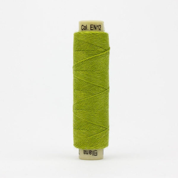 EN12 - Ellana 12wt Wool Acrylic Avocado Thread - wonderfil-online-eu