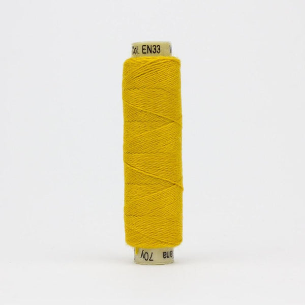 EN33 - Ellana 12wt Wool Acrylic Golden Rod Thread - wonderfil-online-eu