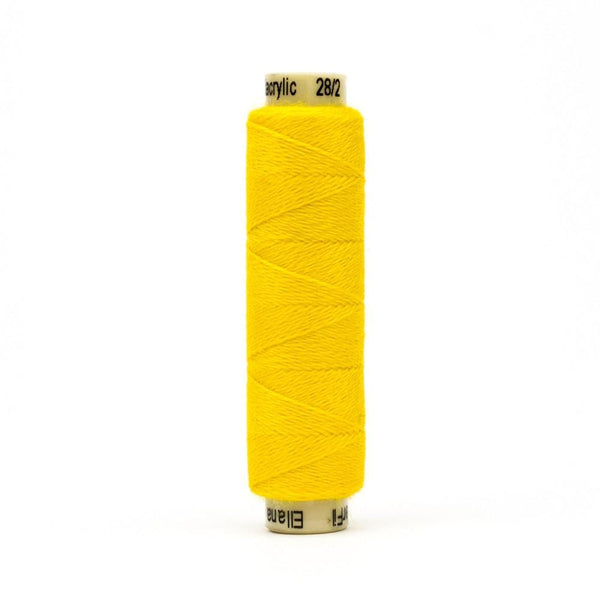 EN34 - Ellana 12wt Wool Acrylic Sun Yellow Thread - wonderfil-online-eu