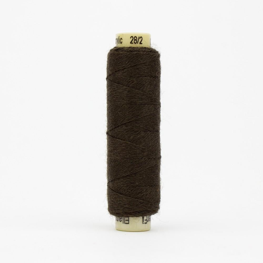 EN52 - Ellana 12wt Wool Acrylic Dark Chocolate Thread - wonderfil-online-eu