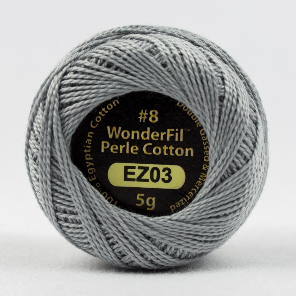 EL5G03 - Eleganza 8wt Egyptian Cotton Silverware Thread - wonderfil-online-eu