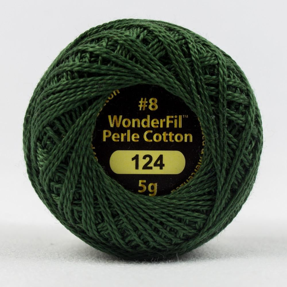 EL5G124 - Eleganza 8wt Egyptian Cotton Deep Foliage Thread - wonderfil-online-eu
