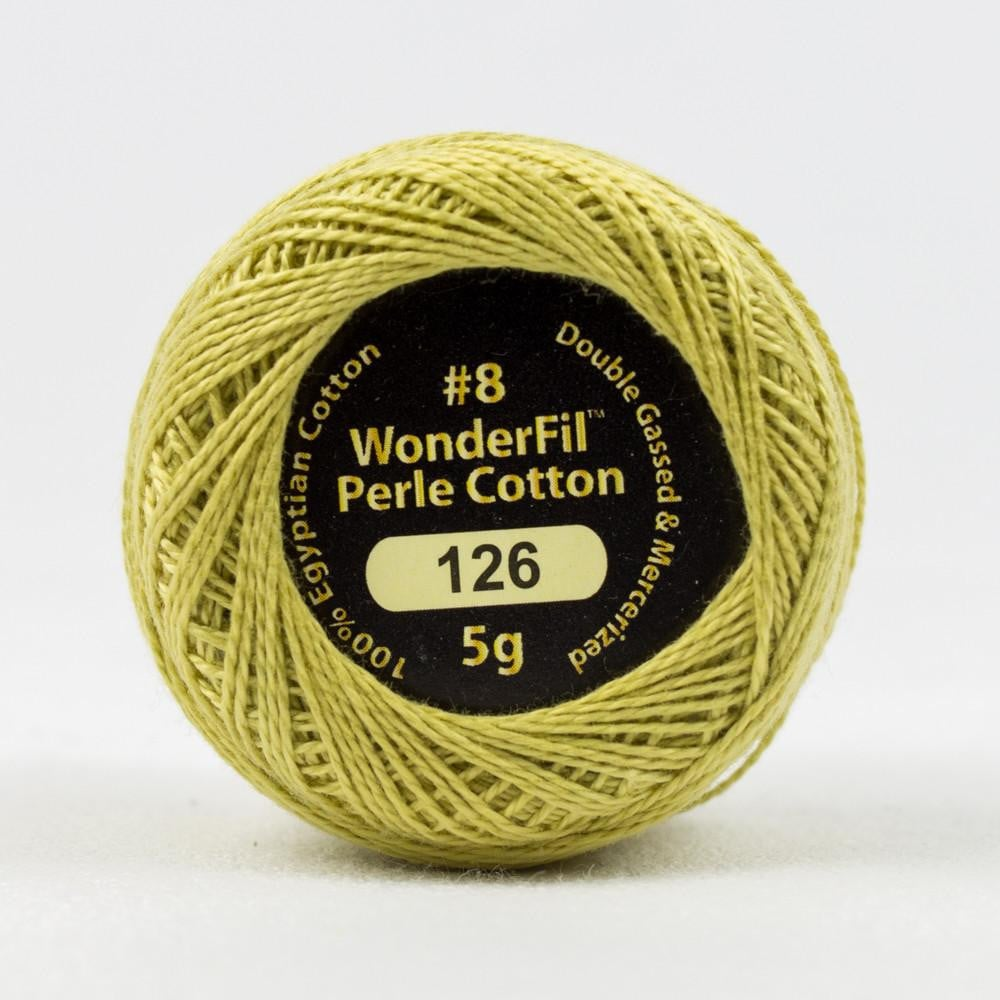 EL5G126 - Eleganza 8wt Egyptian Cotton Sandstone Thread - wonderfil-online-eu